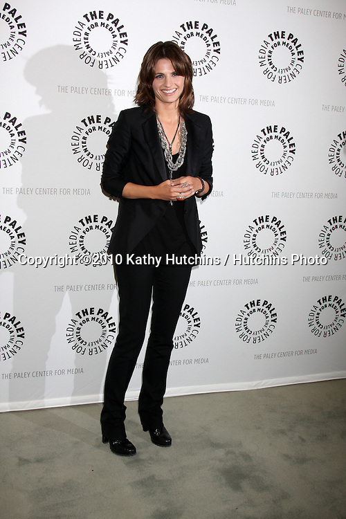 """Stana Katic.arrives at the """"An Evening With Castle""""  .Paley Center For Media.Los Angeles, CA.March 16, 2010.©2010 Kathy Hutchins / Hutchins Photo...."""