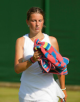 30-6-09, England, London, Wimbledon,  Quirine Lemoine