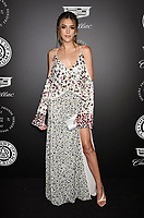 SANTA MONICA, CA - JANUARY 06: Model Sistine Stallone arrives at the The Art Of Elysium's 11th Annual Celebration - Heaven at Barker Hangar on January 6, 2018 in Santa Monica, California.<br /> CAP/ROT/TM<br /> &copy;TM/ROT/Capital Pictures