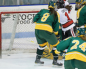 Sonia St. Martin (Northeastern - 12) - The Northeastern University Huskies defeated the visiting Clarkson University Golden Knights 5-2 on Thursday, January 5, 2012, at Matthews Arena in Boston, Massachusetts.