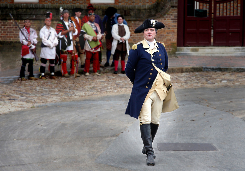 People / characters from Historic Williamsburg, Va