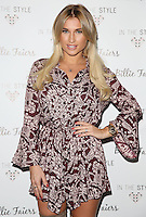 Billie Faiers unveils her first Christmas fashion	collection	 for In The Style at Dirty Martini, London. <br /> November 10, 2015  London, UK<br /> Picture: James Smith / Featureflash