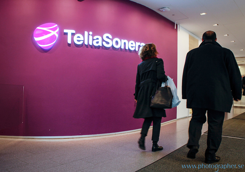 Lars Nyberg, CEO TeliaSonera Stockholm, Sweden, HQ, Photo: Johan Jeppsson