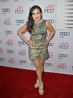 LOS ANGELES, CA. November 11, 2016: Actress Lucy DeVito at premiere of &quot;The Comedian&quot;, part of the AFI Fest 2016, at the Egyptian Theatre, Hollywood.<br /> Picture: Paul Smith/Featureflash/SilverHub 0208 004 5359/ 07711 972644 Editors@silverhubmedia.com