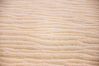Sand close up detail at Te Paki Sand Dunes, 90 Mile Beach, New Zealand