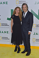 HOLLWOOD, CA - October 09: Brett Morgen, Debra Eisenstadt, At Premiere Of National Geographic Documentary Films' 'Jane' At On the Hollywood Bowl In California on October 09, 2017. <br /> CAP/MPIFS<br /> &copy;MPIFS/Capital Pictures