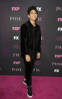 """WEST HOLLYWOOD, CA - AUGUST 9: Angel Bismark Curiel, at Red Carpet Event For FX's """"Pose"""" at Pacific Design Center in West Hollywood, California on August 9, 2019. <br /> CAP/MPIFS<br /> ©MPIFS/Capital Pictures"""