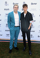 04 January 2019 - Palm Springs, California - Troye Sivan, Leland. Variety 2019 Creative Impact Awards and 10 Directors to Watch held at the Parker Palm Springs during the 30th Annual Palm Springs International Film Festival. Photo Credit: Faye Sadou/AdMedia