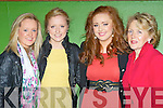 Laura, Claire, Aine and Eileen Buckley attending the Dr Croke's GAA club social in the INEC Killarney on Friday night..