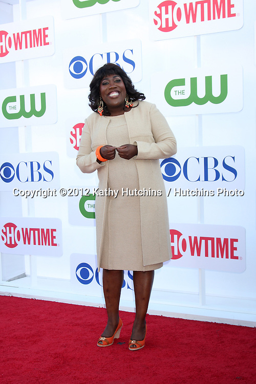 LOS ANGELES - JUL 29:  Sheryl Underwood arrives at the CBS, CW, and Showtime 2012 Summer TCA party at Beverly Hilton Hotel Adjacent Parking Lot on July 29, 2012 in Beverly Hills, CA