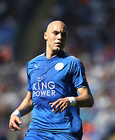 Leicester City's Yohan Benalouane<br /> <br /> Photographer Rob Newell/CameraSport<br /> <br /> The Premier League - Leicester City v West Ham United - Saturday 5th May 2018 - King Power Stadium - Leicester<br /> <br /> World Copyright &copy; 2018 CameraSport. All rights reserved. 43 Linden Ave. Countesthorpe. Leicester. England. LE8 5PG - Tel: +44 (0) 116 277 4147 - admin@camerasport.com - www.camerasport.com