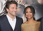 Bradley Cooper and Zoe Saldana attends The Premiere of The Words held at The Arclight Theatre in Hollywood, California on September 04,2012                                                                               © 2012 DVS / Hollywood Press Agency