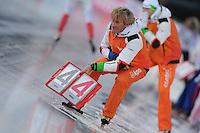SCHAATSEN: BOEDAPEST: Essent ISU European Championships, 08-01-2012, Wopke de Vegt, ©foto Martin de Jong