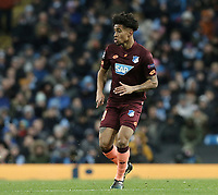 1899 Hoffenheim's Reiss Nelson<br /> <br /> Photographer Rich Linley/CameraSport<br /> <br /> UEFA Champions League Group F - Manchester City v TSG 1899 Hoffenheim - Wednesday 12th December 2018 - The Etihad - Manchester<br />  <br /> World Copyright © 2018 CameraSport. All rights reserved. 43 Linden Ave. Countesthorpe. Leicester. England. LE8 5PG - Tel: +44 (0) 116 277 4147 - admin@camerasport.com - www.camerasport.com