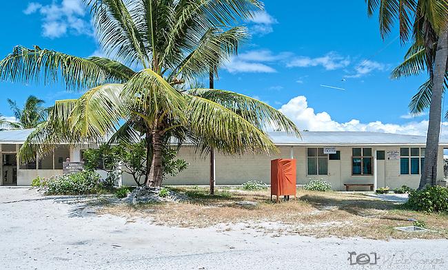 The main hospital in the capital town of London on the remote island of Kiritimati in Kiribati