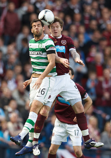 Joe Ledley and Darren Barr