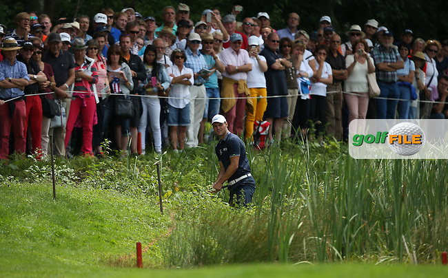 In the mire is Martin Kaymer (GER) during Round One of the 2015 BMW International Open at Golfclub Munchen Eichenried, Eichenried, Munich, Germany. 25/06/2015. Picture David Lloyd | www.golffile.ie