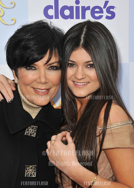 "Kris Jenner & daughter Kylie Jenner at the world premiere of ""Mirror Mirror"" at Grauman's Chinese Theatre, Hollywood..March 17, 2012  Los Angeles, CA.Picture: Paul Smith / Featureflash"