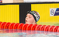 Picture by Allan McKenzie/SWpix.com - 13/12/2017 - Swimming - Swim England Winter Championships - Ponds Forge International Sport Centre - Sheffield, England - Michaella Glenister races to gold in the womens open 400m individual medley.