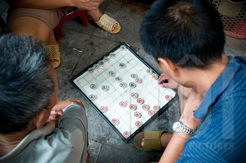 Playing chess | Images of Vietnam and Southeast Asia - NOI Stock