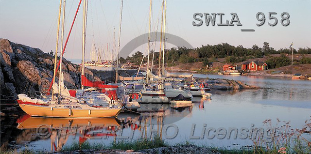 Carl, LANDSCAPES, panoramic, photos, sailing ships, river(SWLA958,#L#)