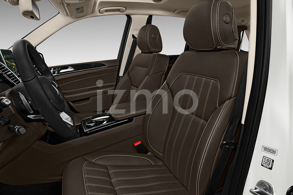 Front seat view of 2017 Mercedes Benz GLE-Class AMG-GLE43 5 Door SUV Front Seat  car photos