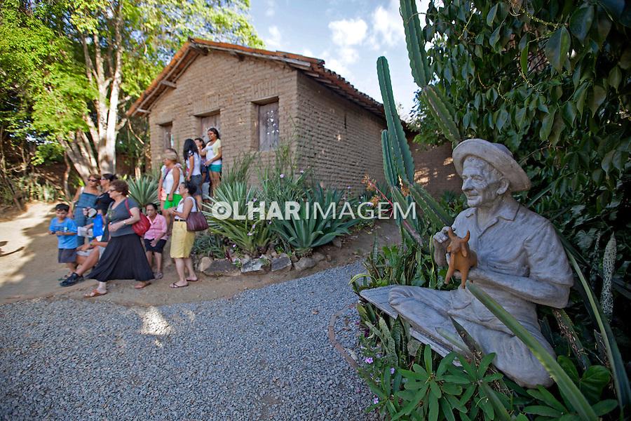 Casa Museu Mestre Vitalino em Alto do Moura, Caruaru. Pernambuco. 2013. Foto de Rogerio Reis.