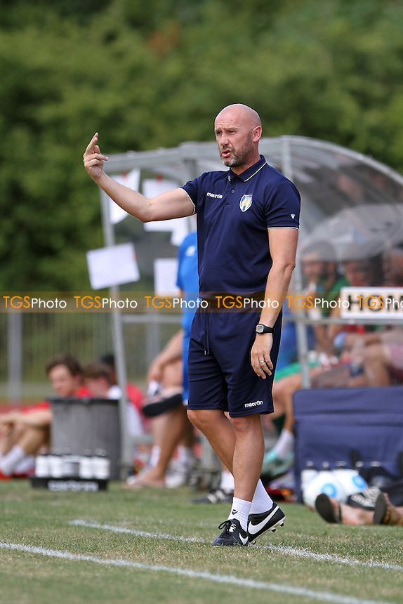 John McGreal Manager of Colchester United during Chelmsford City vs Colchester United, Friendly Match Football at Melbourne Park on 23rd July 2016