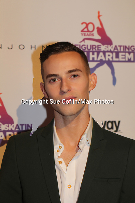 Adam Rippon - Figure Skating in Harlem celebrates 20 years - Champions in Life benefit Gala on May 2, 2017 in New York Ciry, New York.   (Photo by Sue Coflin/Max Photos)