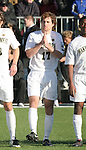 16 December 2007: Wake Forest's Cody Arnoux. The Wake Forest University Demon Deacons defeated the Ohio State Buckeyes 2-1 at SAS Stadium in Cary, North Carolina in the NCAA Division I Mens College Cup championship game.