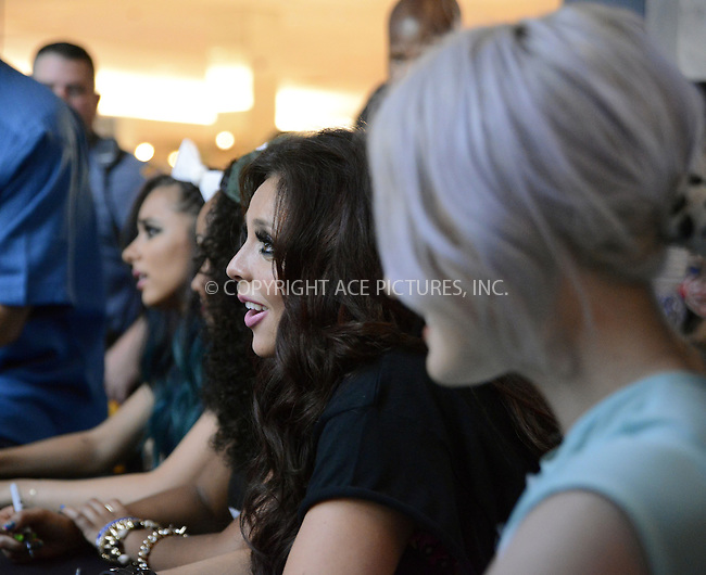 WWW.ACEPIXS.COM......May 27 2013, Paramus, NJ....Pop band 'Little Mix' appeared at the Garden State Plaza on May 27 2013 in Paramus, New Jersey ......By Line: Curtis Means/ACE Pictures......ACE Pictures, Inc...tel: 646 769 0430..Email: info@acepixs.com..www.acepixs.com