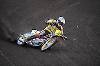 MOTORSPORT: JOURE: De Nutsbaan, MC Flying Boetoe, 12-05-2012, ONK Grasbaan wedstrijden, Winnaar Specials Senioren Mark Stiekema (#3), ©foto Martin de Jong