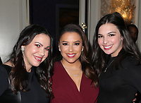LOS ANGELES, CA - NOVEMBER 8: Eva Longoria, Isabella Gomez, Guest, at the Eva Longoria Foundation Dinner Gala honoring Zoe Saldana and Gina Rodriguez at The Four Seasons Beverly Hills in Los Angeles, California on November 8, 2018. Credit: Faye Sadou/MediaPunch