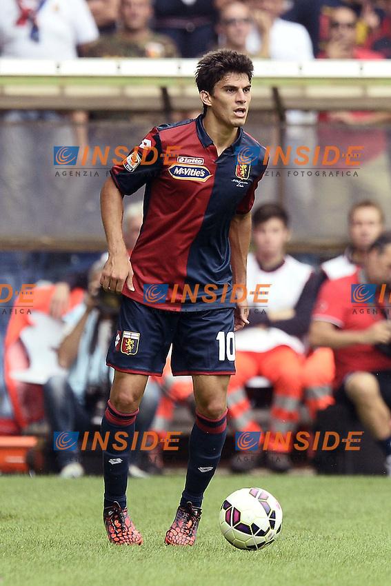 Diego Perotti Genoa<br /> Genova 21-09-2014 Stadio Luigi Ferraris - Football Calcio Serie A Genoa - Lazio. Image Sport / Foto Insidefoto