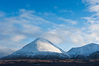 Glamaig - Sgurr Mhairi with winter snow, Isle of Skye, Scotland