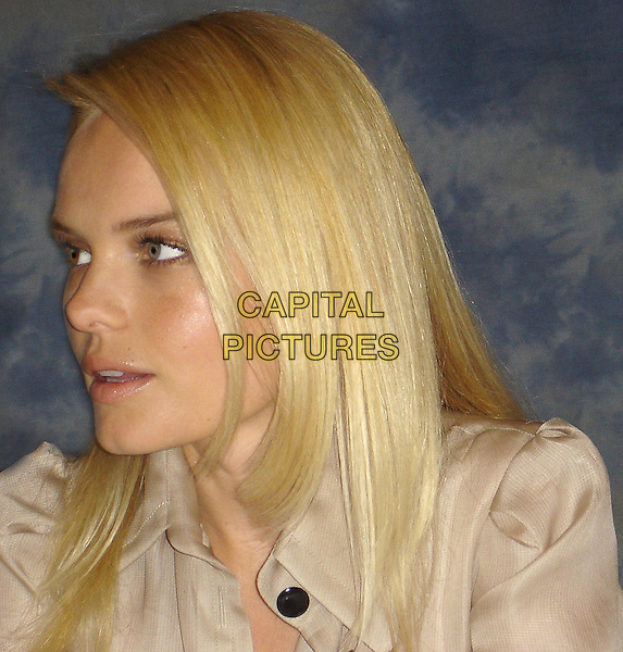 """KATE BOSWORTH.""""Superman Returns"""" Press Conference held  at the .Century Plaza Hotel in Century City, .California, USA, June 11th 2006..portrait headshot profile.Ref: AW.www.capitalpictures.com.sales@capitalpictures.com.©Anita Weber/Capital Pictures."""
