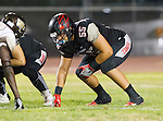 Lawndale, CA 11/11/16 - Keyahn Pinkston (Lawndale #55) in action during the West Torrance - Lawndale CIF first round playoffs.  Lawndale defeated West Torrance 48-14.