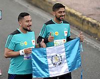 BOGOTÁ -COLOMBIA. 31-07-2016: Aspecto de los participantes en la Media Maratón de Bogotá 2016. En esta ocasión Tadese Tola de Etiopia, en varones, fue el ganador con un tiempo de 1h 05m 16s, y en mujeres Purity Rionoripio de Kenia con un tiempo de 1h 11m 56s, / Aspect of the people during the Half Marathon of Bogota 2016. In this edition the winner was Tadese Tola of Ethiopia in men with a time of 1h 05m 16s, and in women the winner was Purity Rionoripio of Kenya with a time of 1h 11m 56s, Photo: VizzorImage/ Luis Ramirez / Staff
