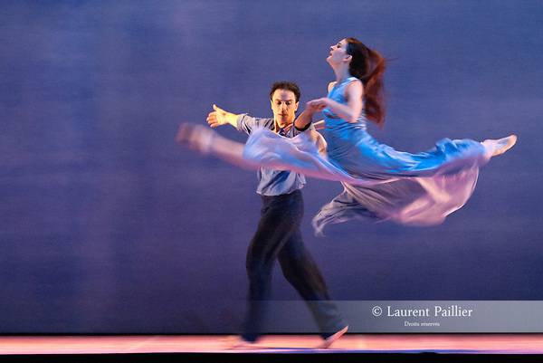 SIGNES<br /> <br /> Chorégraphie : CARLSON Carolyn<br /> Compositeur : AUBRY Rene<br /> Compagnie : Ballet de l'Opera national de Paris<br /> Decor : DEBRE Olivier<br /> Lumiere : BESOMBES Patrice<br /> Costumes : DEBRE Olivier<br /> Avec :.GILLOT Marie Agnes.BELARBI Kader<br /> Lieu : Opera Bastille<br /> Ville : Paris<br /> Le : 27 06 2008<br /> © Laurent Paillier / photosdedanse.com<br /> All Rights reserved