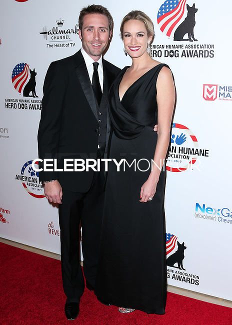 BEVERLY HILLS, CA, USA - SEPTEMBER 27: Philippe Cousteau Jr., Ashlan Gorse arrive at the 4th Annual American Humane Association Hero Dog Awards held at the Beverly Hilton Hotel on September 27, 2014 in Beverly Hills, California, United States. (Photo by Xavier Collin/Celebrity Monitor)