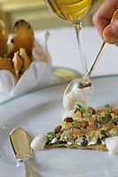 """Europe/France/75/Paris: Hotel """"Meurice """" 228 rue de Rivoli- Taboulé aux Anchois recette  du  Chef Yannick Alleno"""