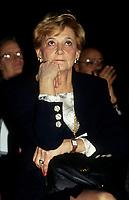 Andree Simard la conjointe du Premier ministre Robert Bourassa<br /> ,vers 1991<br /> <br /> <br /> <br /> PHOTO : &copy; Agence Quebec Presse