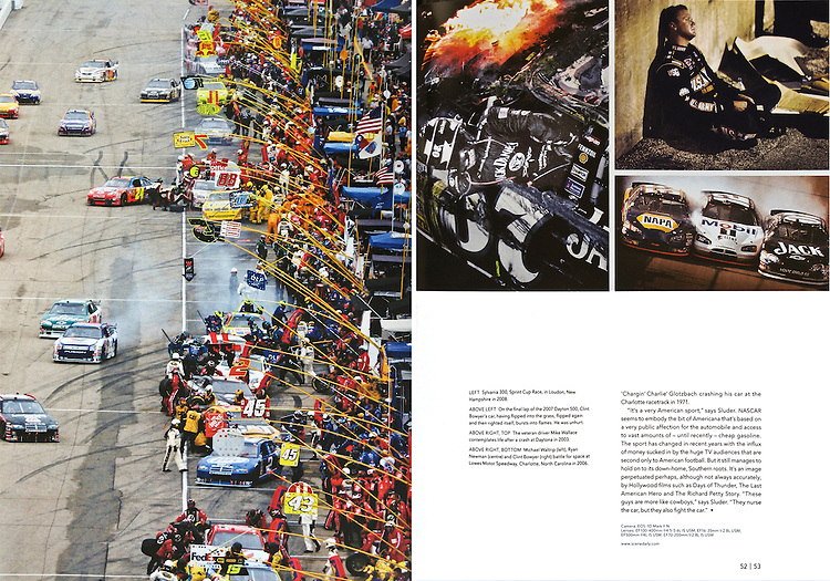 Pages in a feature called 'Three Working Photographers - In Comparison'..In Issue No. 2 of CPN Europa Magazine, a magazine published by Canon Professional Network in Europe and Asia in 5 languages.