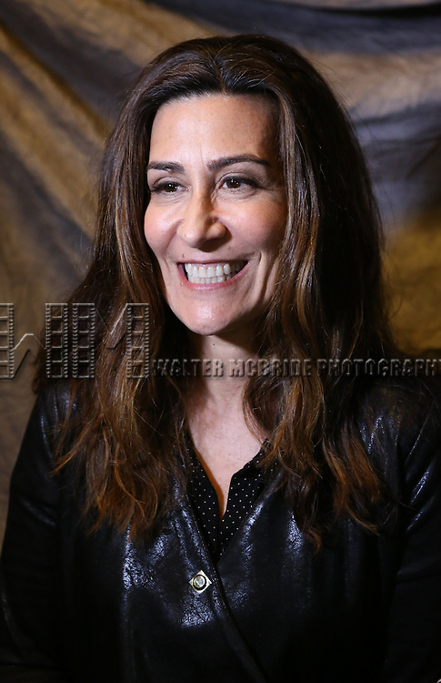 Jeanine Tesori attends the 2015 Tony Awards Meet The Nominees Press Junket at the Paramount Hotel on April 29, 2015 in New York City.