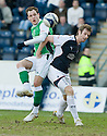 27/03/2010   Copyright  Pic : James Stewart.sct_jspa21_falkirk_v_hibernian  .::  ANTHONY STOKES SHOOTS AS BRIAN MCLEAN CHALLENGES ::  .James Stewart Photography 19 Carronlea Drive, Falkirk. FK2 8DN      Vat Reg No. 607 6932 25.Telephone      : +44 (0)1324 570291 .Mobile              : +44 (0)7721 416997.E-mail  :  jim@jspa.co.uk.If you require further information then contact Jim Stewart on any of the numbers above.........