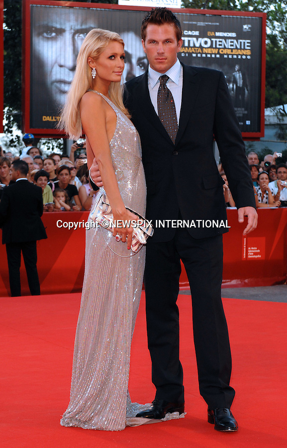 "PARIS HILTON AND DOUG REINHARDT.Bad Lieutenant - Port of Call New Orleans, at the  66th Venice Film Festival , Venice_04/09/2009.Mandatory Credit Photo: ©NEWSPIX INTERNATIONAL..**ALL FEES PAYABLE TO: ""NEWSPIX INTERNATIONAL""**..IMMEDIATE CONFIRMATION OF USAGE REQUIRED:.Newspix International, 31 Chinnery Hill, Bishop's Stortford, ENGLAND CM23 3PS.Tel:+441279 324672  ; Fax: +441279656877.Mobile:  07775681153.e-mail: info@newspixinternational.co.uk"