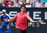Netherlands, Rosmalen , June 10, 2015, Tennis, Topshelf Open, Autotron, Fernando Verdasco (ESP)<br /> Photo: Tennisimages/Henk Koster