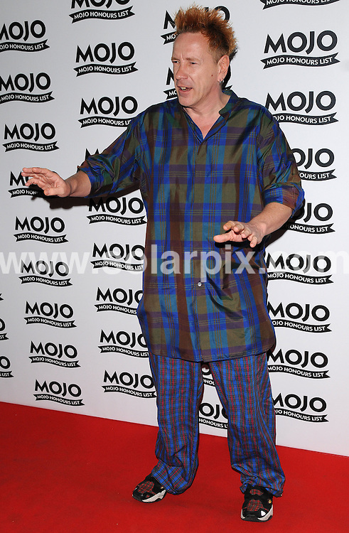 **ALL ROUND PICTURES FROM SOLARPIX.COM**.**WORLDWIDE SYNDICATION RIGHTS**.Red carpet arrivals at the Mojo Honours 2008. Held at the Brewery, Chiswell Street, London, UK. June 16, 2008...This pic: John Lydon..JOB REF: 6650 SSD     DATE: 16_06_2008.**MUST CREDIT SOLARPIX.COM OR DOUBLE FEE WILL BE CHARGED* *UNDER NO CIRCUMSTANCES IS THIS IMAGE TO BE REPRODUCED FOR ANY ONLINE EDITION WITHOUT PRIOR PERMISSION*