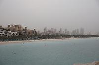 General view from the Burj al Arab, Jumeirah, Dubai, United Arab Emirates on 1.4.19.
