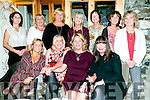 Theresa Murphy, Tralee celebrates half a century with friends at Bella Bia on Saturday Pictured front l-r Trish McCarthy, Catherine White, Theresa Murphy, Mairead Williams, Monica Moriarty, Mags Knightly, Mary Barrett, Deirdre Murphy O'Sullivan,  Catherine Doyle, Ellie Mcewan, Stacy Donlon